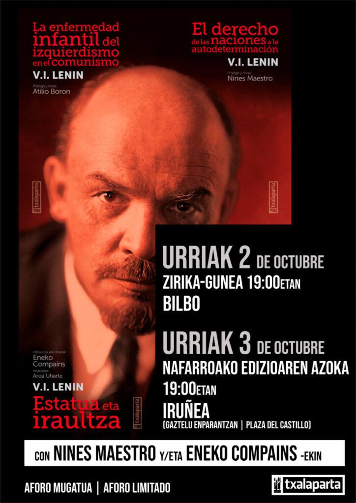 Conferencia  V.I. LENIN 2 y 3 de octubre