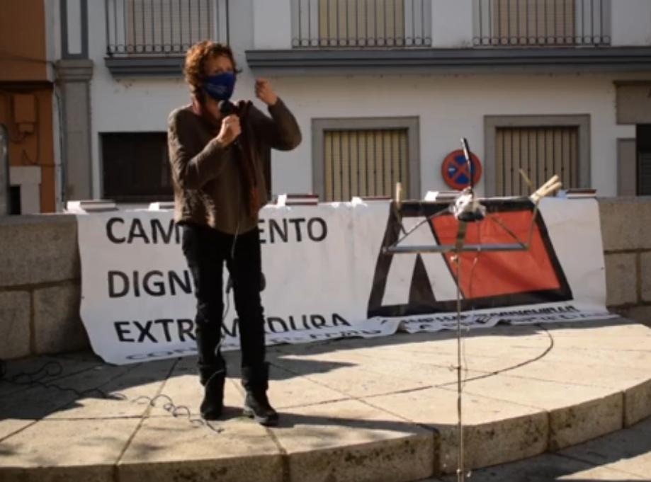 [Vídeo] Nines Maestro en la asamblea de Mérida